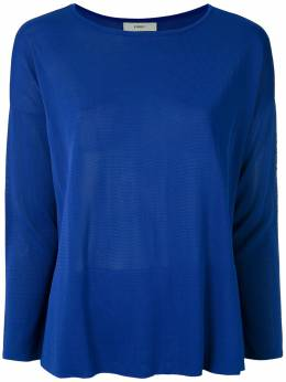 Egrey трикотажная блузка Firenze с вырезом лодочкой 317204