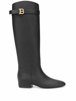 Balmain Royce knee-high boots UN0C550LVSF