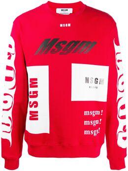 MSGM толстовка с логотипом 2940MM205207599