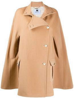 Blumarine wool cape coat 23300