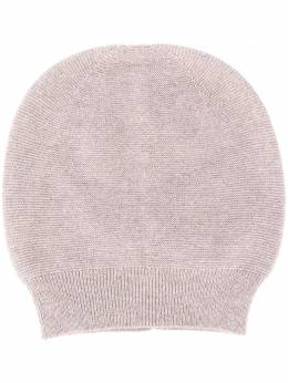 Fabiana Filippi round top fine knit beanie hat SAD220B9260000F022