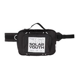 Raf Simons Black Eastpak Edition Check Loop Waist Bag E5B7QG47