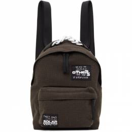Raf Simons Brown Eastpak Edition Mini Patches Backpack E5B7PG46