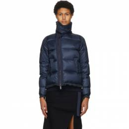Sacai Navy Down Nylon Jacket SCW-037