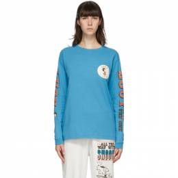 Marc Jacobs Blue Peanuts Edition Lucy Long Sleeve T-Shirt C6000185-430