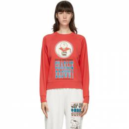 Marc Jacobs Red Peanuts Edition French Terry Sweatshirt C6000173-610