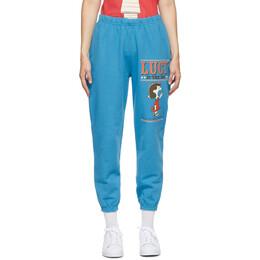 Marc Jacobs Blue Peanuts Edition The Gym Lounge Pants C4003116-430