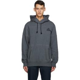 Adidas Originals Grey Z.N.E. Hoodie GH6842