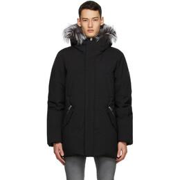 Mackage Black and Silver Down Edward Coat EDWARD-X