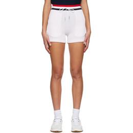 Thom Browne Pink Cotton Seersucker Shorts FJQ036A-01732