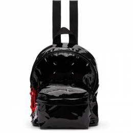 Maison Margiela Black Mini Shiny Backpack S55WA0116 P1932