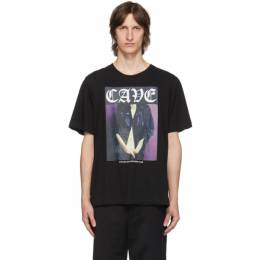 Stolen Girlfriends Club SSENSE Exclusive Black Cave T-Shirt SS-20T001BG