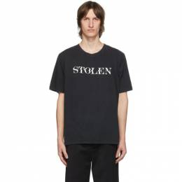 Stolen Girlfriends Club Black Shake T-Shirt C3-20T001AC-C