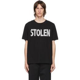 Stolen Girlfriends Club SSENSE Exclusive Black Blatant T-Shirt C3-20T001W-D