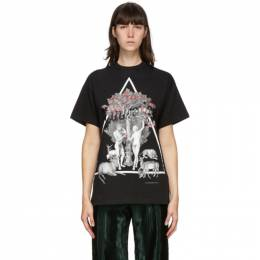 Christopher Kane Black Naturotica T-Shirt AW20 TS551