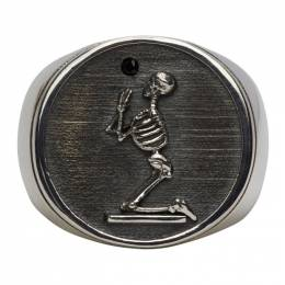 Stolen Girlfriends Club Silver Skeleton Ring JWL17026