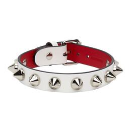 Christian Louboutin White Loubilink Bracelet 3205177
