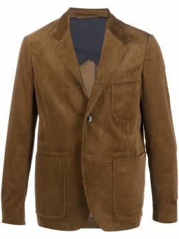Closed fitted corduroy blazer C8707462P20