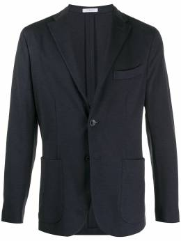 Boglioli fitted single-breasted jacket L2302IBSC106