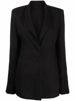 Ann Demeulemeester single-breasted tailored blazer 20021034170