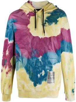Mauna Kea tie-dye print long sleeve hoodie MKU623B