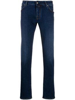 Jacob Cohen pocket-detail slim-fit jeans J62200728