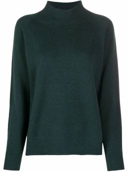Peserico mock neck ribbed knit sweater S99450F0709018