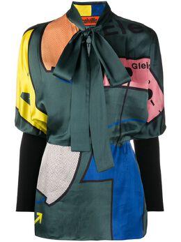 Colville блузка с абстрактным принтом CVF20733B
