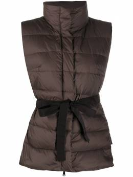 Peserico belted padded down gilet M0325702202