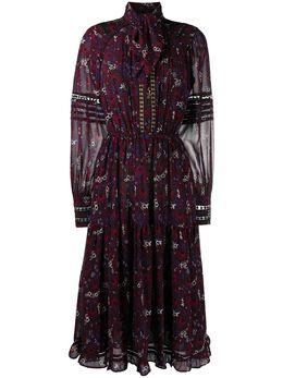 MICHAEL Michael Kors платье миди Azalea с кружевом MF0800UFFS