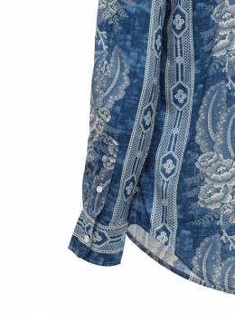 Хлопковая Рубашка С Принтом Polo Ralph Lauren 72IE50014-MDAx0