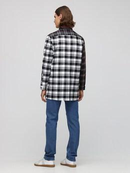 Хлопковая Рубашка В Клетку Loewe 72I6HC013-MzExNg2