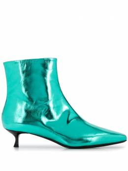 MSGM metallic ankle boots 2941MDS8173142