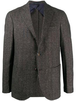 Barba однобортный пиджак в полоску GLELLO1400