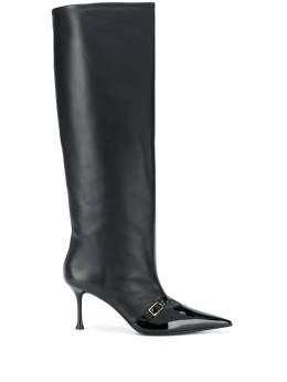 MSGM knee-length pointed-toe boots 2942MDS3435S297