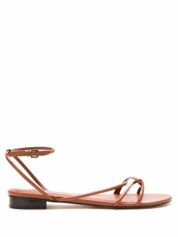 NK leather flat sandals CD120046