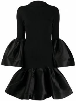 Marques'Almeida платье с объемными рукавами AW20DR0215JRR