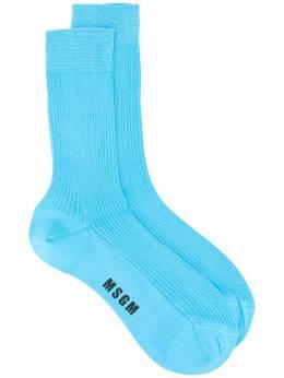 MSGM носки с логотипом 2942MDS102207989