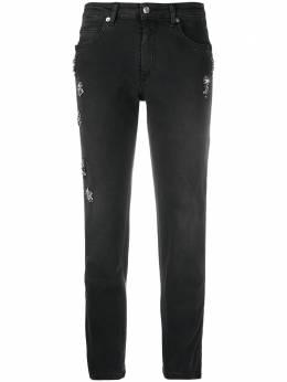 Ermanno Ermanno Scervino джинсы прямого кроя со стразами JL02JNE