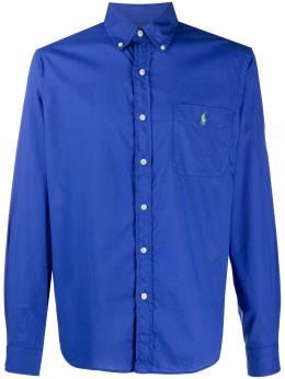 Polo Ralph Lauren рубашка с длинными рукавами и карманом 710806833