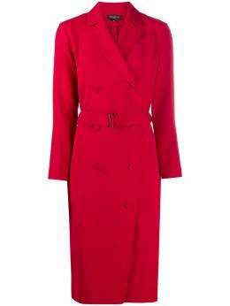 Antonelli двубортное платье с поясом LORRAIN371B