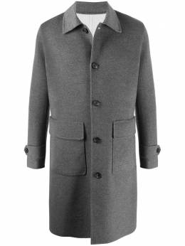 Eleventy однобортное пальто миди B75CAPB19TCH0B005
