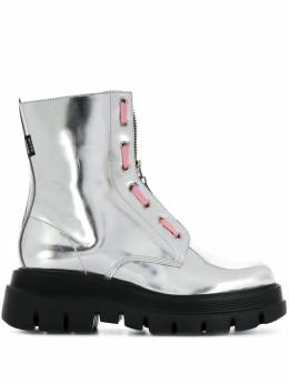 MSGM metallic ankle-length boots 2942MDS108352