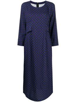 Comme Des Garcons Comme Des Garcons платье с геометричным принтом RFO001