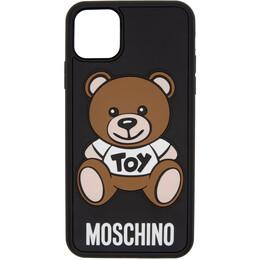Moschino Black Toy Bear iPhone 11 Pro Max Case 7928 8306