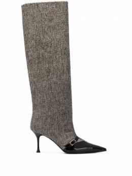 MSGM pointed-toe knee-length boots 2942MDS3435S305