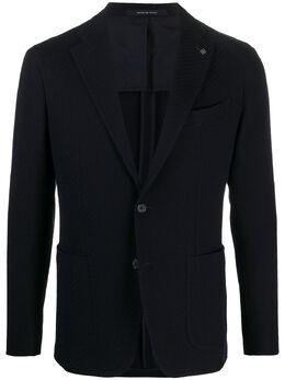 Tagliatore однобортный пиджак узкого кроя 1SMJ22K57UIJ106