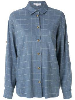 NK рубашка с длинными рукавами и принтом CM031020