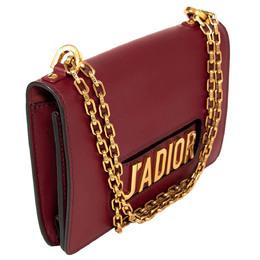 Dior Burgundy Leather J'adior Shoulder Bag 330865