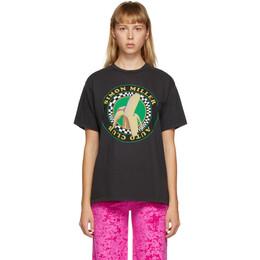Simon Miller Black Nana Loose T-Shirt W392-4053